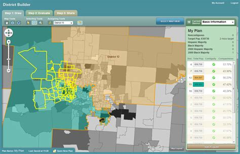 house mapping software districtbuilder azavea harvard and george professors let you redistrict