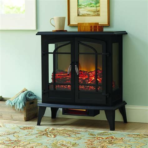 Hton Bay Electric Fireplace Reviews hton bay legacy 650 sq ft panoramic infrared electric