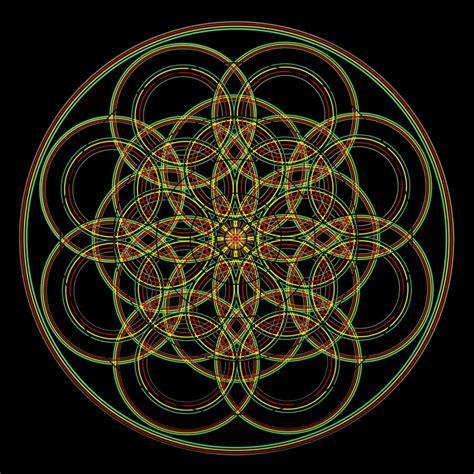 mandala tattoo sacred geometry chris cosmos tattoo studio geometric flower tattoo pictures to pin on pinterest