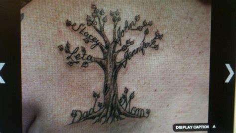 family tree tattoo designs with names family tree tattoos