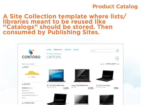 sharepoint 2013 product catalog site template what s new in sharepoint 2013 discover it