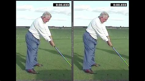 The Single Plane Golf Swing Vs The Conventional Golf