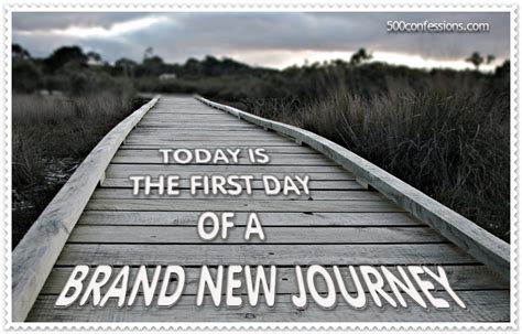 Start Of A Journey by Start A New Journey Quotes Quotesgram
