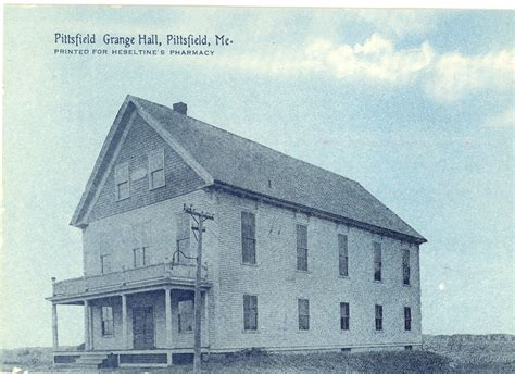 P Of H Grange by Pittsfield Grange P Of H 1904 Pittsfield Historical Society