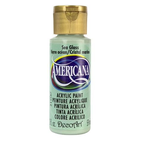 acrylic paint for decoart americana 2 oz sea glass acrylic paint da297 3