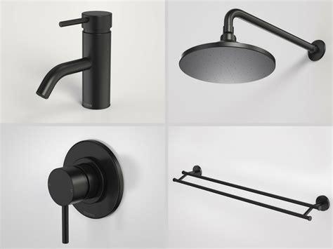 black tapware shower heads towel rail tapware