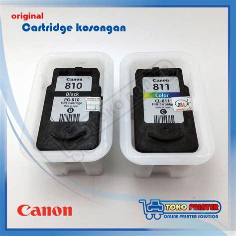 Catridge 810 Ada Minus cartridge kosongan canon original pg 810 cl 811 second bekas catridge katrit ip2770