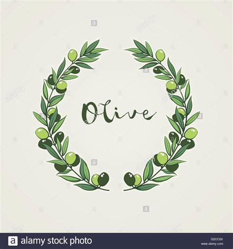 olive vector olive leaf circle www imgkid com the image kid has it