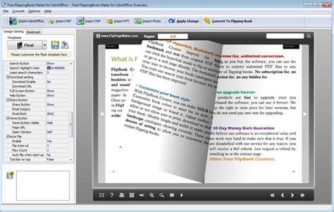 book layout libreoffice flippagemaker flipbook maker for liberoffice free