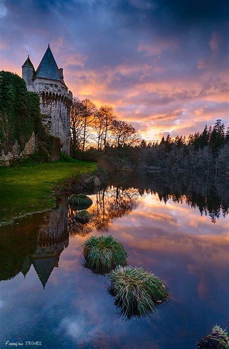 photo bretagne chateau de langoet en bretagne par