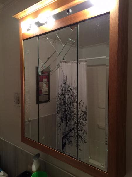 bathroom mirror replacement replace mirror on medicine cabinet home fatare