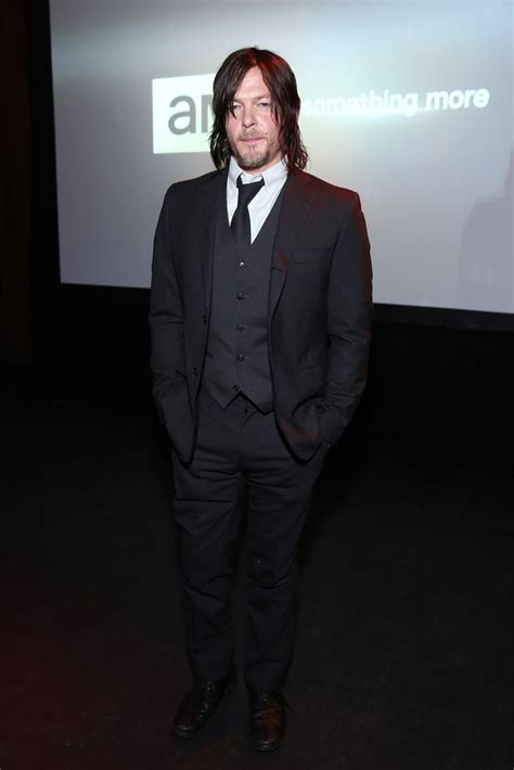 walking dead carpet 2015 norman reedus amc ad sales event lmsqjddvjfdx suited and