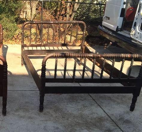 Antique Early 1800s Bed Frame Beds Frames Jenny Lind Vintage Wood Bed Frame