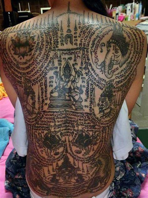 tattoo girl thailand occult thai tattoos zero equals two tattoo thai style