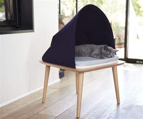 stylish cat furniture classy designer cat bed furniture from meyou paris ozzi
