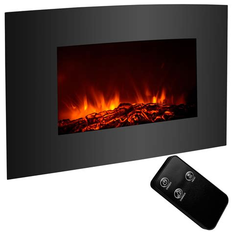 xl large   electric fireplace wall mount