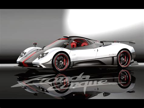 pagani zonda side world of cars pagani zonda cinque roadster
