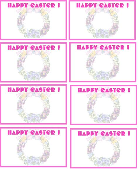 printable easter themed name tags printable pet tag templates trials ireland