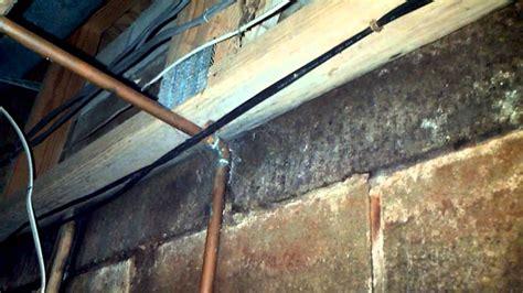 horizontal basement wall crack youtube
