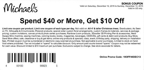 2015 printable michaels coupon 50 off printable coupons in store coupon codes michaels coupons