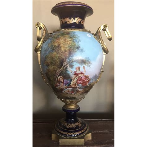 vaso porcellana grande vaso in porcellana sevres centro mercato antiquariato