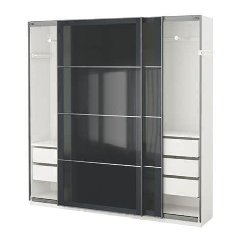 Kleiderschrank Visthus by Pax Garderobeskap 200x44x201 Cm Ikea