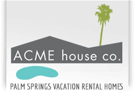 Acme House Company by Luxury Palm Springs Vacation Rentals Homes Acme House Co