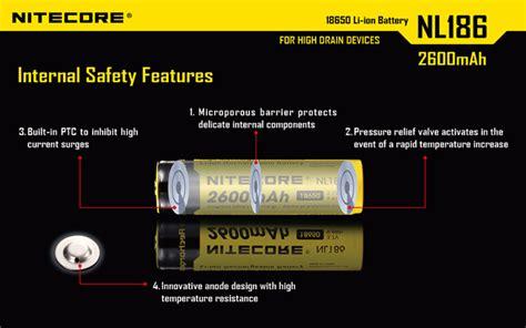 Promo Nitecore P20uv Senter Led With Uv Light Cree Xm L2 T6 8 Vt 22y P nitecore 18650 rechargeable li ion battery 2600mah 3 7v