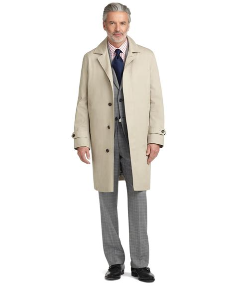 New Givenchy 20082 brothers single breasted trench coat in brown for lyst