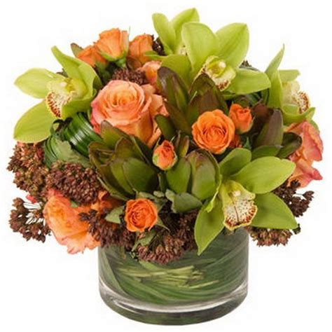 Thanksgiving Flowers by Thanksgiving Floral Centerpiece Ideas 07 Fall