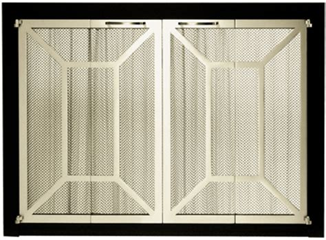 brass fireplace screens at toolsforfireplaces
