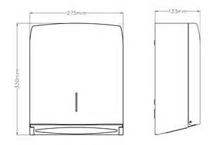 Paper Towel Dispenser With C Z Folds Dt0106 Mediclinics