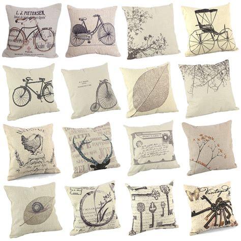home decorative pillows new sofa cushion cover throw pillow case 18 quot vintage 16