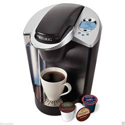 NEW Keurig B60 Signature Brewer Coffee Maker w/ Accessory K Cup Packs & Clock   eBay