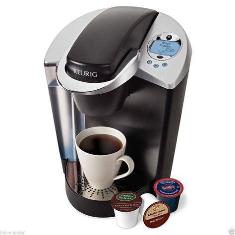 Keurig Coffee Maker new keurig b60 signature brewer coffee maker w accessory k cup packs clock ebay