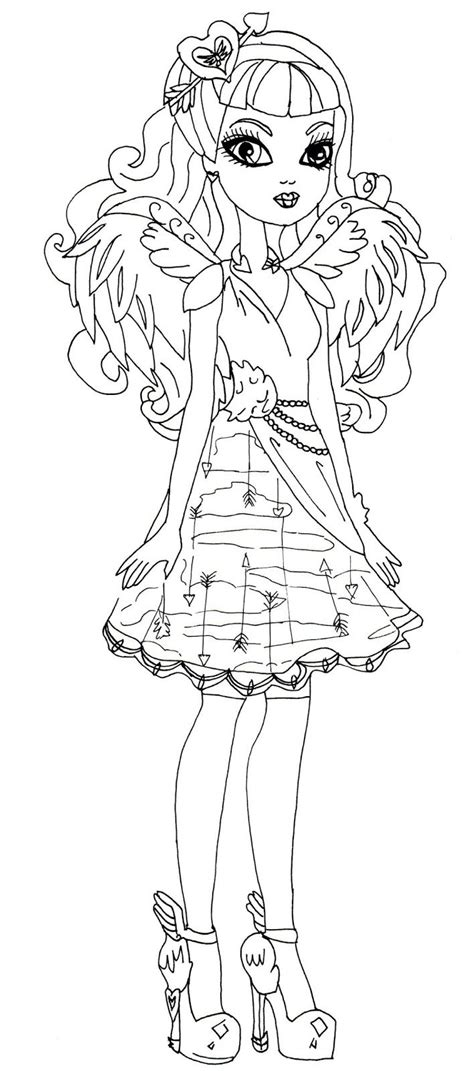 ever after high school coloring pages ever after high malvorlagen and f 228 rben on pinterest