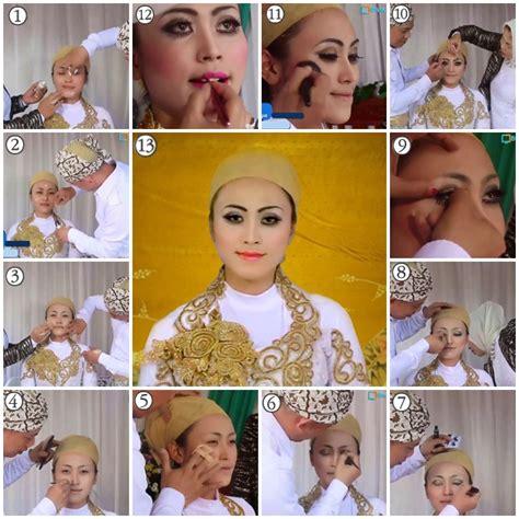 tutorial make up pengantin cantik tutorial makeup pengantin muslim modern