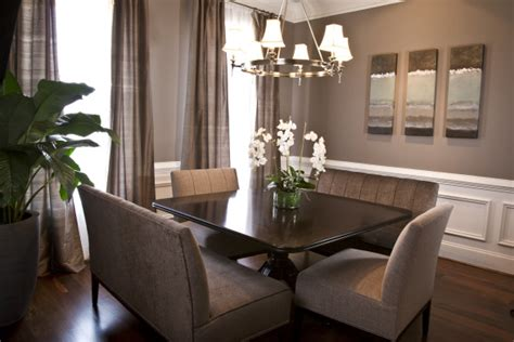 Gray Dining Room by Taupe Paint Contemporary Dining Room Sherwin