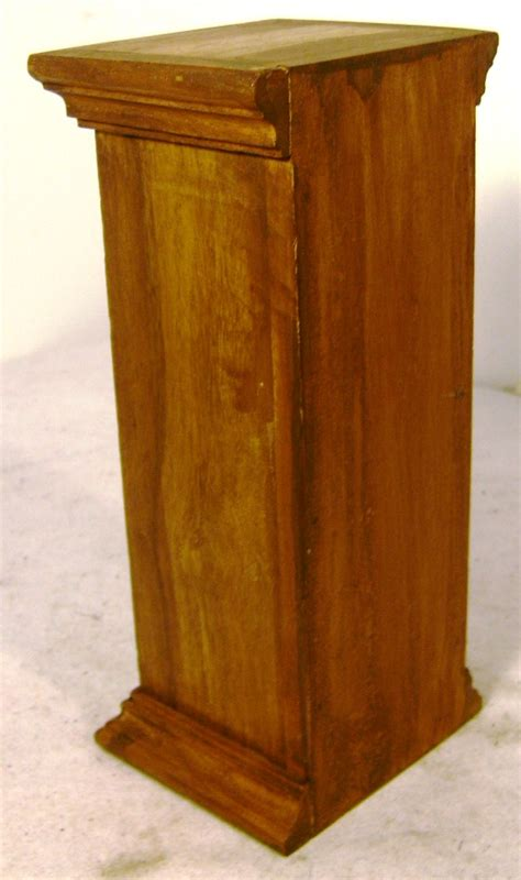 Wooden Spice Drawers by Vintage Stoneware Wooden 3 Drawer Spice Stand