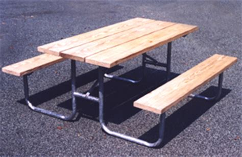 picnic table hardware kit custom barricades barriers stanchion carts bike racks