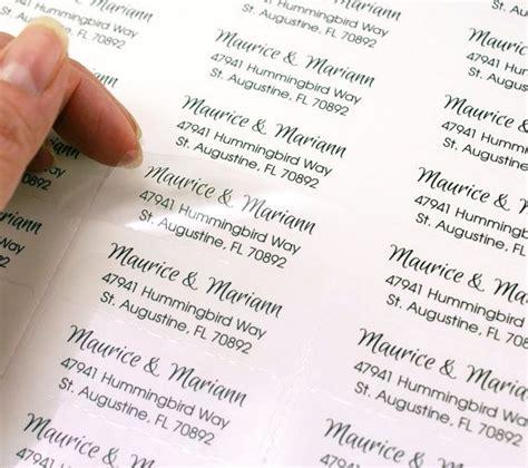 Wedding Card Labels by Clear Address Labels Wedding Wedding Card Invitations