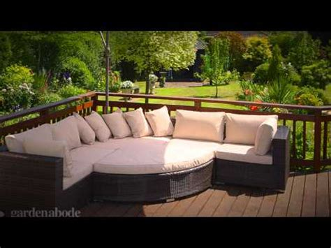 garden abode maze rattan furniture specialist youtube