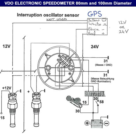 vdo speedometer wiring diagram milage on top dolgular