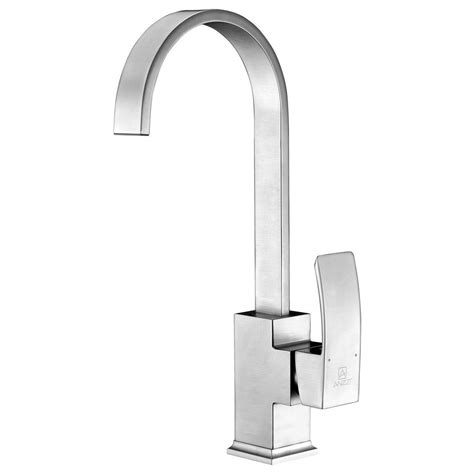 glacier bay newbury single handle bar faucet in brushed