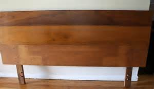 King Size Wooden Headboard by Mcm King Size Headboard Picked Vintage