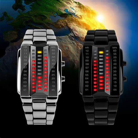 Skmei Formal Stainless Water Resistant Limited skmei cool stainless steel binary led black ledwatchstop