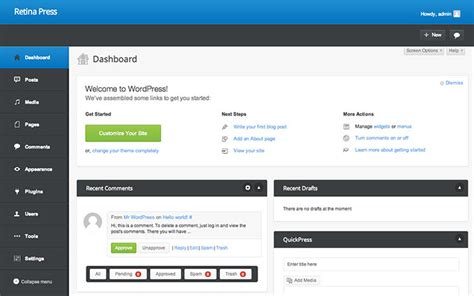 wordpress dashboard layout 9 wordpress plugins to change look of your dashboard web