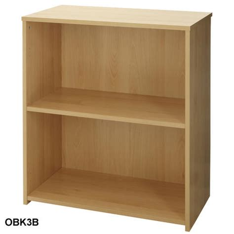 beech bookcase wood storage unit office home light wood
