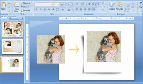 Powerpoint Tutorial Photoshop | create photo effects in powerpoint without touching