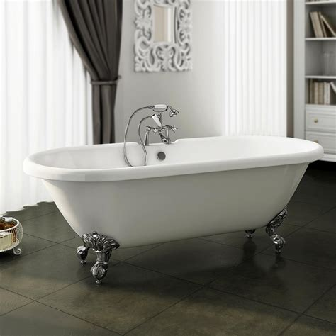 roll top bathtub duke 1795 double ended roll top bath victorian plumbing